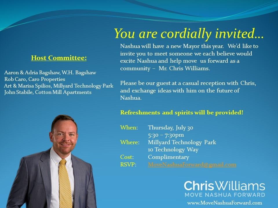 Chris Williams Reception