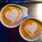 Coffee cups office building nashua